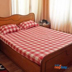 King sized cotton bedsheet