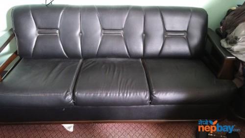 Rexin sofa set (used)