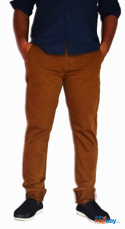 Slim Fit Strechable Cotton Chinos Pants