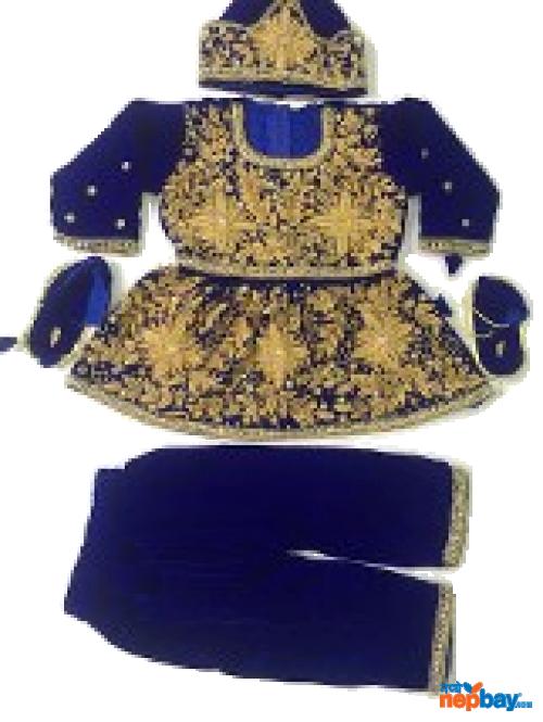 Blue Pasni Dress – Smooth Velvet