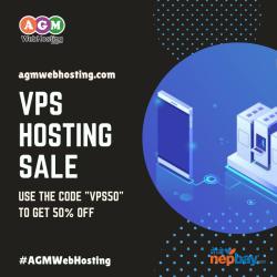 Get Flat 50% Off on VPS Hosting (Server) for a limited time