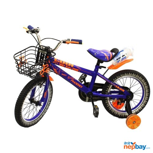 Phoenix Blue/Orange Bicycle for Kids (QR16A1604JL)