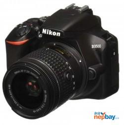 Nikon D3500 W/AF-P DX Nikkor 18-55mm (Black)