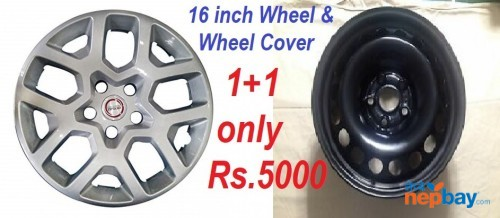 16 Inch Wheel & Cover for any SUVs