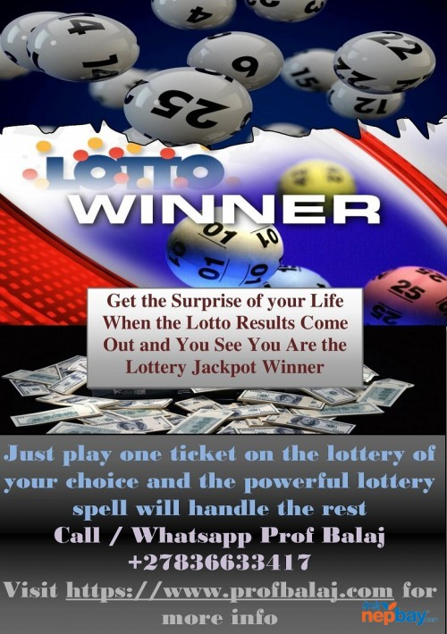 Lottery Spells With Ensured Results - Spells to Win the Mega Millions Jackpot Call +27836633417