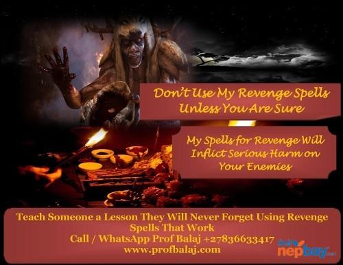 Black Magic Revenge Spells - Simple Working Spells for Revenge Against Enemies Call +27836633417