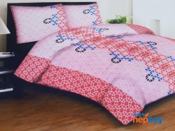 Sparsh Bed Sheet With 2 Pillow Cover (100% Fine Cover)