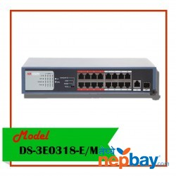 POE SWITCH-DS-3E0318P-E/M