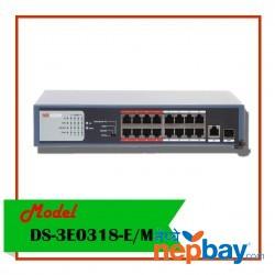 POE SWITCH-DS-3E0318P-E/M