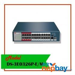 POE SWITCH-DS-3E0326P-E/M