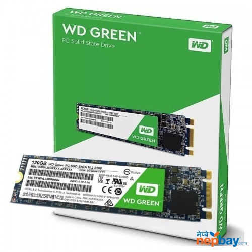 Wd Solid State Drive (ssd) Harddisk(240gb)