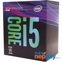 Intel I5 8th Gen. Box Pack Processor.