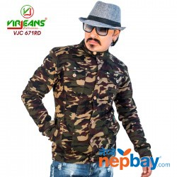 Virjeans Combat Stretchable Jacket (VJC 671)