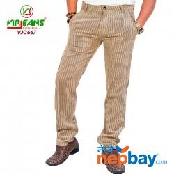 Virjeans Straight Leg Corduroy Pants (VJC 667)