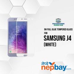 9H Full Glue 5D Glass for Samsung J4 White
