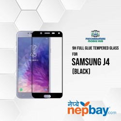 9H Full Glue 5D Glass for Samsung J4 Black