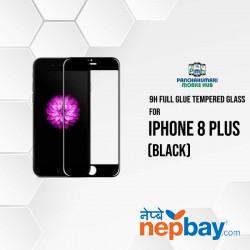 9H Full Glue 5D Glass for iPhone 8 Plus Black
