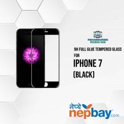 9H Full Glue 5D Glass for iPhone 7 Black
