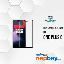 First Rate 9H Premium Tempered Glass for One Plus 6
