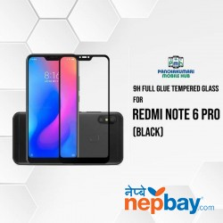 9H Full Glue 5D Glass for Redmi Note 6 Pro