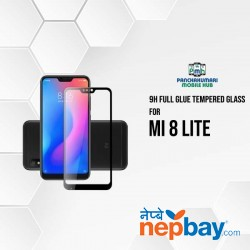 9H Full Glue 5D Glass for Mi 8 Lite
