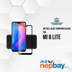 9H Full Glue 5D Glass for Mi 8 Lite