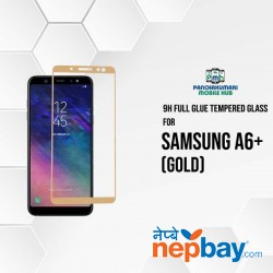 9H Full Glue 5D Glass for Samsung A6 Plus Gold