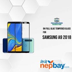 9H Full Glue 5D Glass for Samsung A9 2018