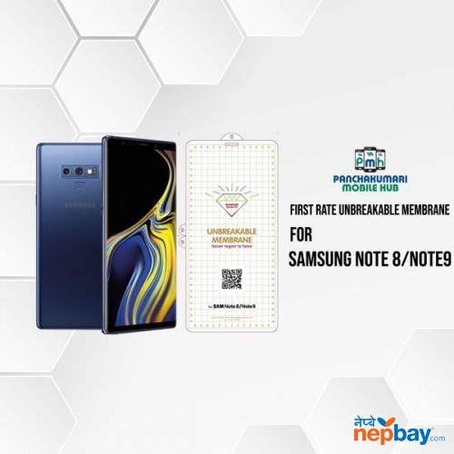 Full Size Anti-explosion Soft TPU Screen Guard Film for Samsung Galaxy Note 8 / Note 9