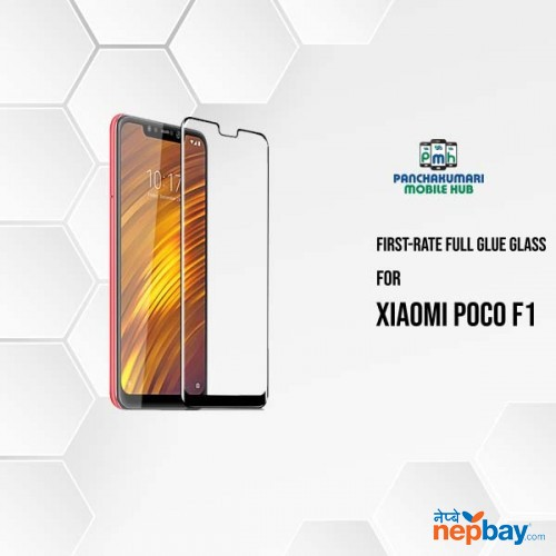 First Rate 9H Premium Tempered Glass for Poco F1