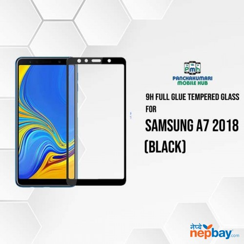 9H Full Glue 5D Glass for Samsung A7 2018