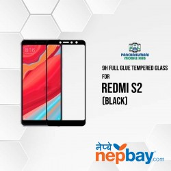 9H Full Glue 5D Glass for Redmi S2 Black