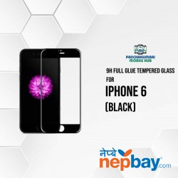 9H Full Glue 5D Glass for iPhone 6 Black