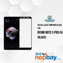 9H Full Glue 5D Glass for Redmi Note 5 Pro/Ai Black