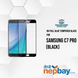 9H Full Glue 5D Glass for Samsung C7 Pro Black