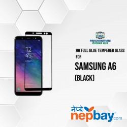 9H Full Glue 5D Glass for Samsung A6 Black