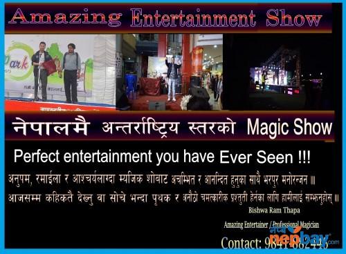 Amazing Stage Magic Show