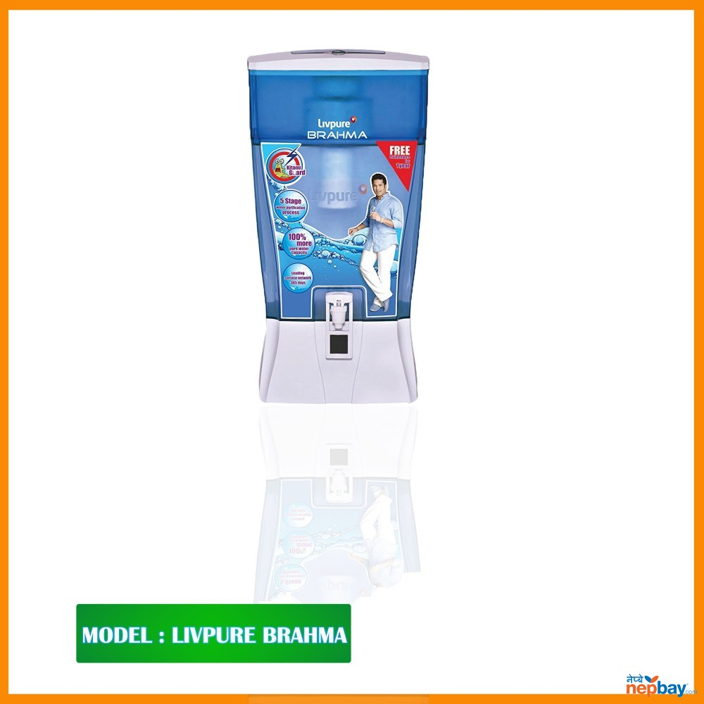 "Livpure Water Purifier-"" BRAHMA  Offlline Water Purifier"""