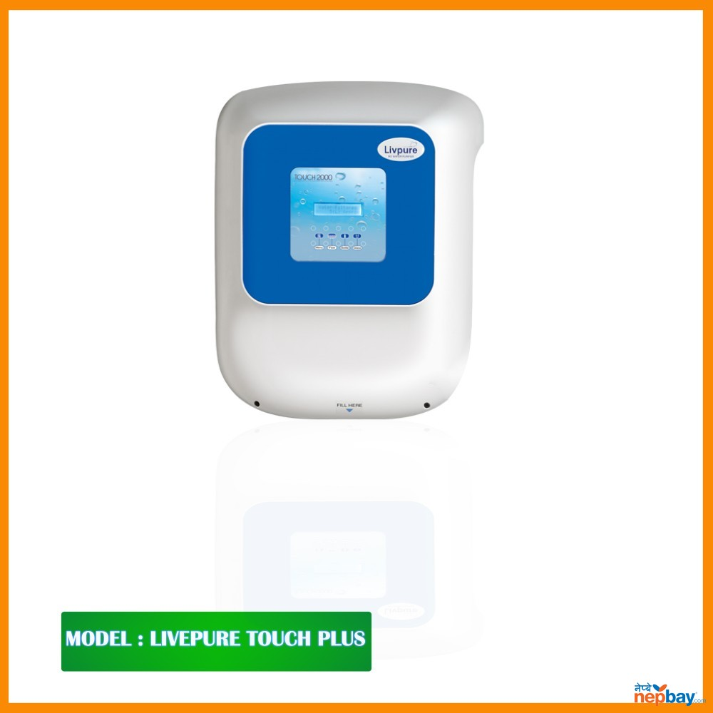 "Livpure Water Purifier-""Touch Plus  RO+UV+UF+Taste Enhancer"""