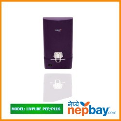 "Livpure Water Purifier-""PEP PLUS RO+UV+Taste Enhancer"""