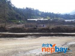Land  sale at main track