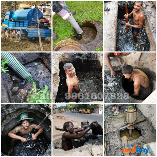 Drainage and Septic tanks cleaning services in Kathmandu Nepal