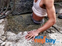 Drainage sewage and septic tank cleaning service in Kathmandu Nepal