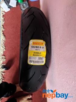 Pirelli Diablo Rosso ii (150/70 r17)
