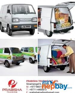 Suzuki Omni Cargo Delivery Van (Brand New) Showroom Prabisha Trading 014490873 / 9851170933