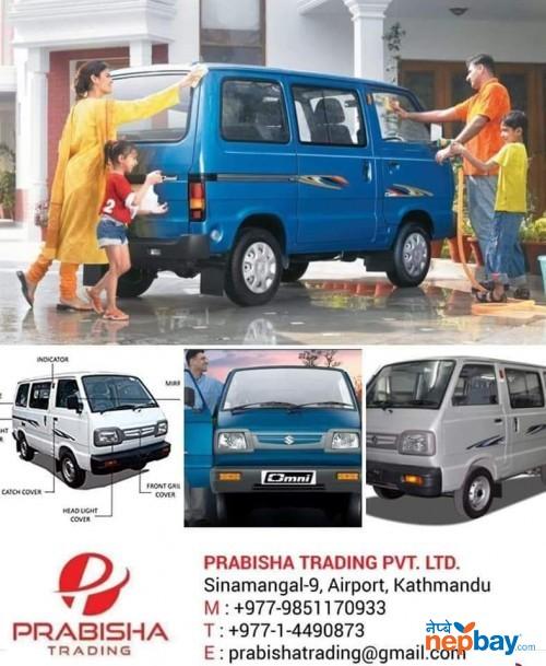 Suzuki Omni 8 Seater Van (Brand New) Showroom Prabisha Trading 014490873 / 9851170933