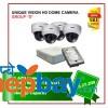 """4 Unique Vision HD Camera-Package Set """"D"""""""