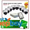 "8 Unique Vision HD Camera-Package Set ""H"""