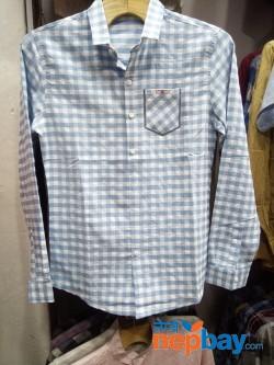 Chequered full sleeve shirt