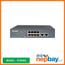 Zkteco POE Switch_POE802